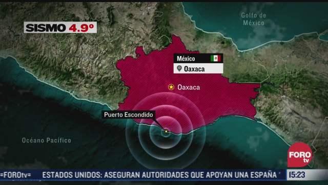 se registran dos sismos con poco tiempo de diferencia en puerto escondido