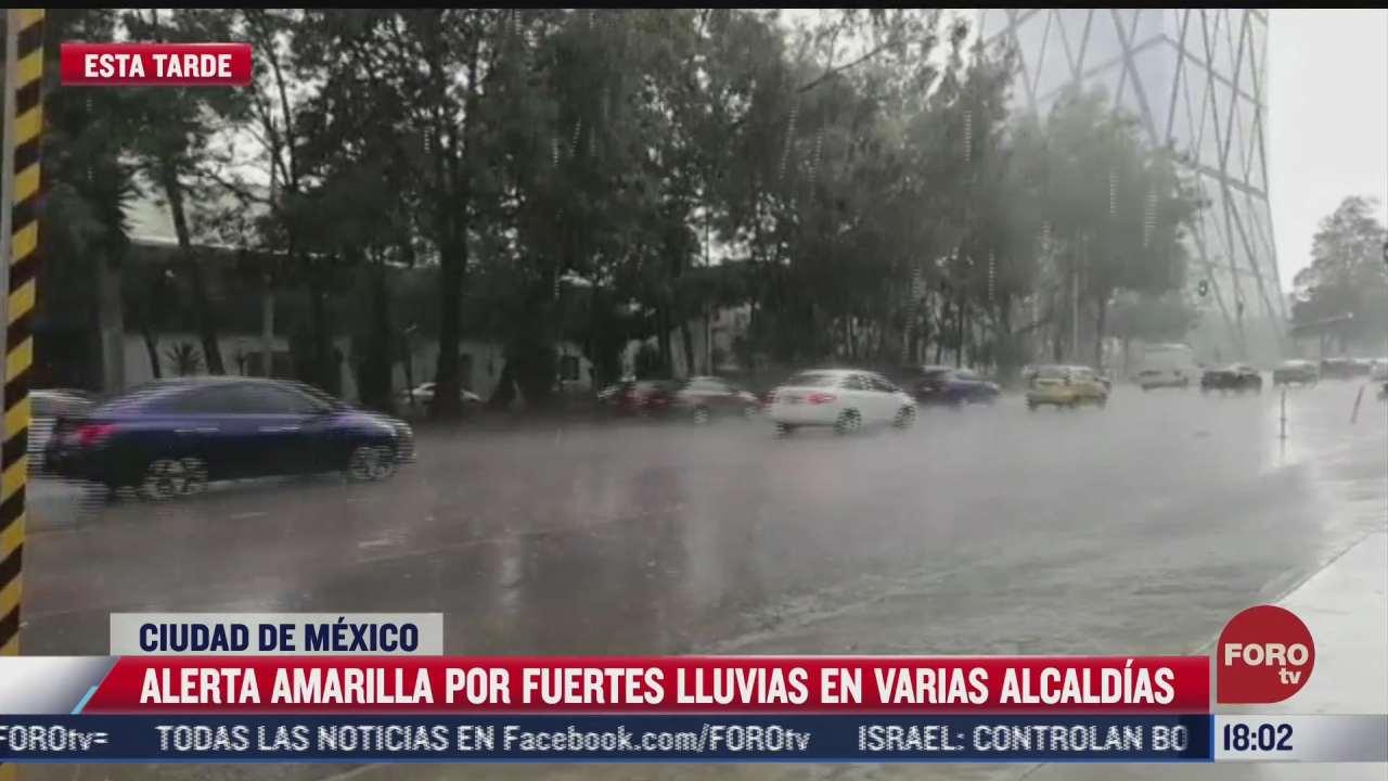 se registran fuertes lluvias e inundaciones en la cdmx y edomex