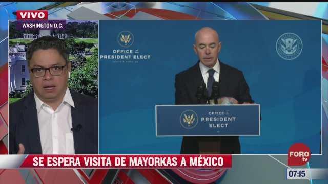 secretario de seguridad de eeuu alejandro mayorkas visitara mexico