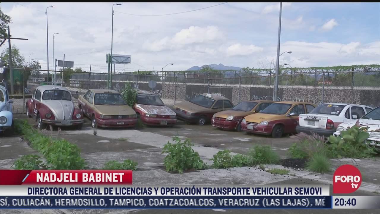 semovi chatarrizara mas de 500 vehiculos abandonados en corralones