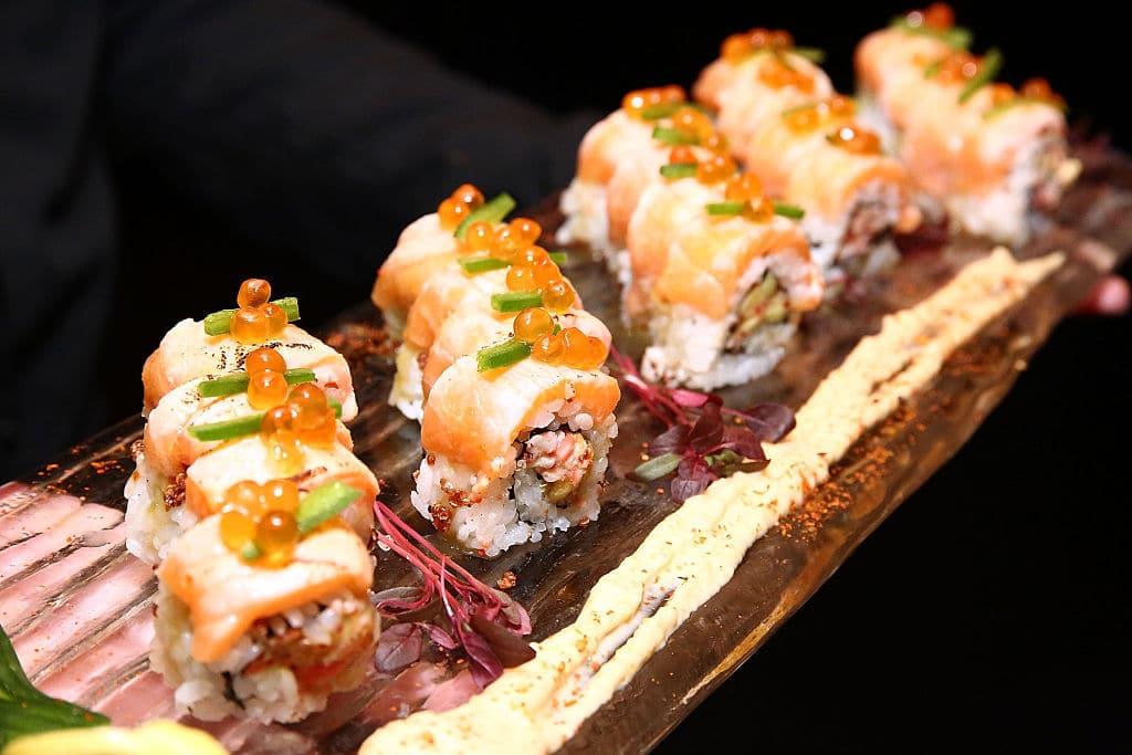 sushi, gastronomía, Japón, comida