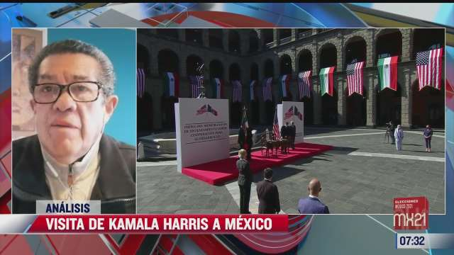 visita de kamala harris a mexico el analisis en estrictamente personal