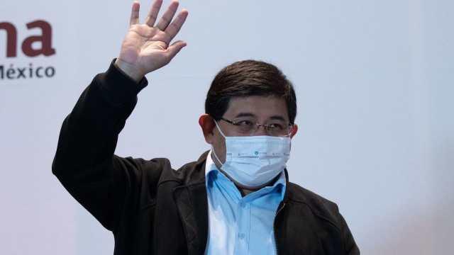 José Carlos Acosta Ruiz, alcalde de Xochimilco, durante reunión de Morena (Cuartoscuro)