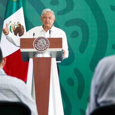 Andrés Manuel López Obrador, presidente de México, ofreció conferencia de prensa desde Culiacán