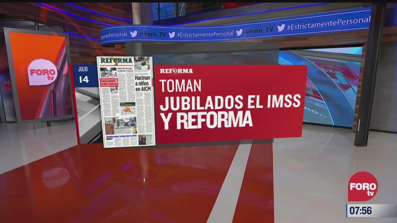 analisis de las portadas nacionales e internacionales del 14 de julio del
