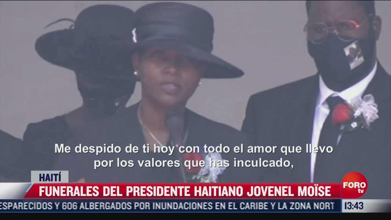 asi fueron los funerales del presidente haitiano jovenel moise