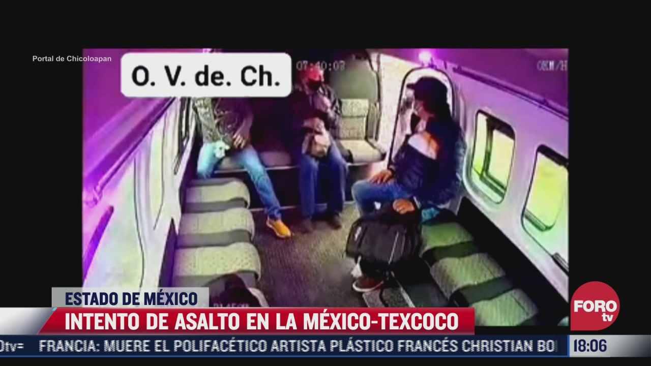 captan intento de asalto en la carretera mexico texcoco