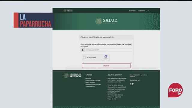 carcel por falsificar certificados de vacunacion contra covid 19 la paparrucha del dia