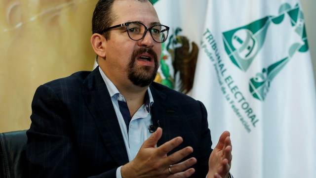 José Luis Vargas, presidente del TEPJF (EFE)