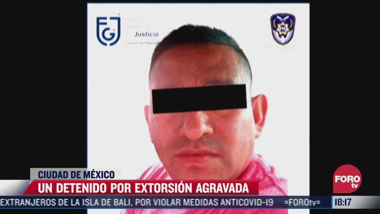 detienen a presunto extorsionador que enganaba a victimas con secuestros falsos