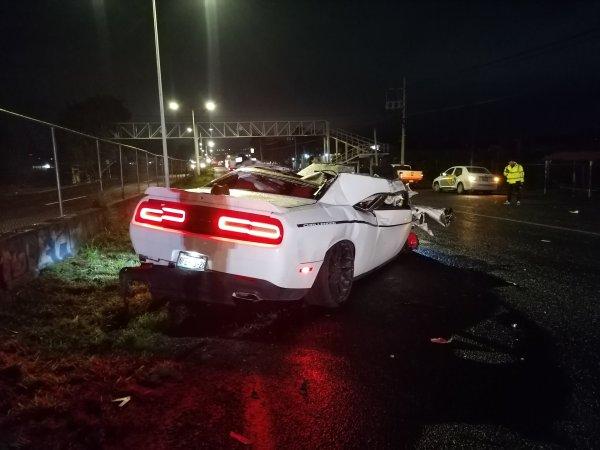 Roban auto deportivo a Matías Vuoso y lo chocan en Jalisco