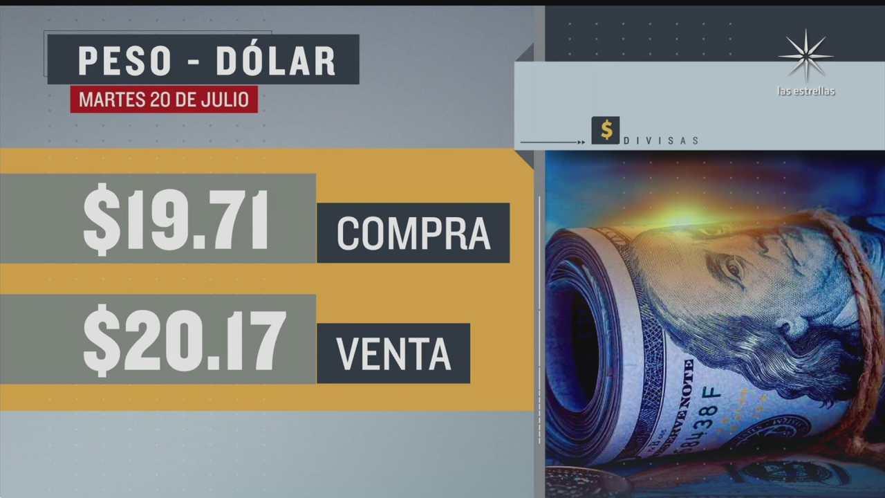 el dolar se vendio en 20 17 en la cdmx del 20 julio