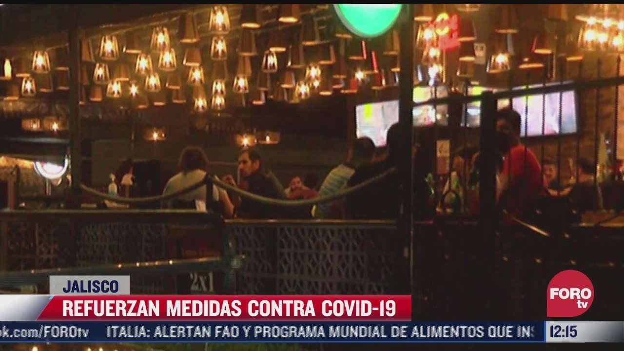 entra en vigor cierre de antros y bares en jalisco por covid
