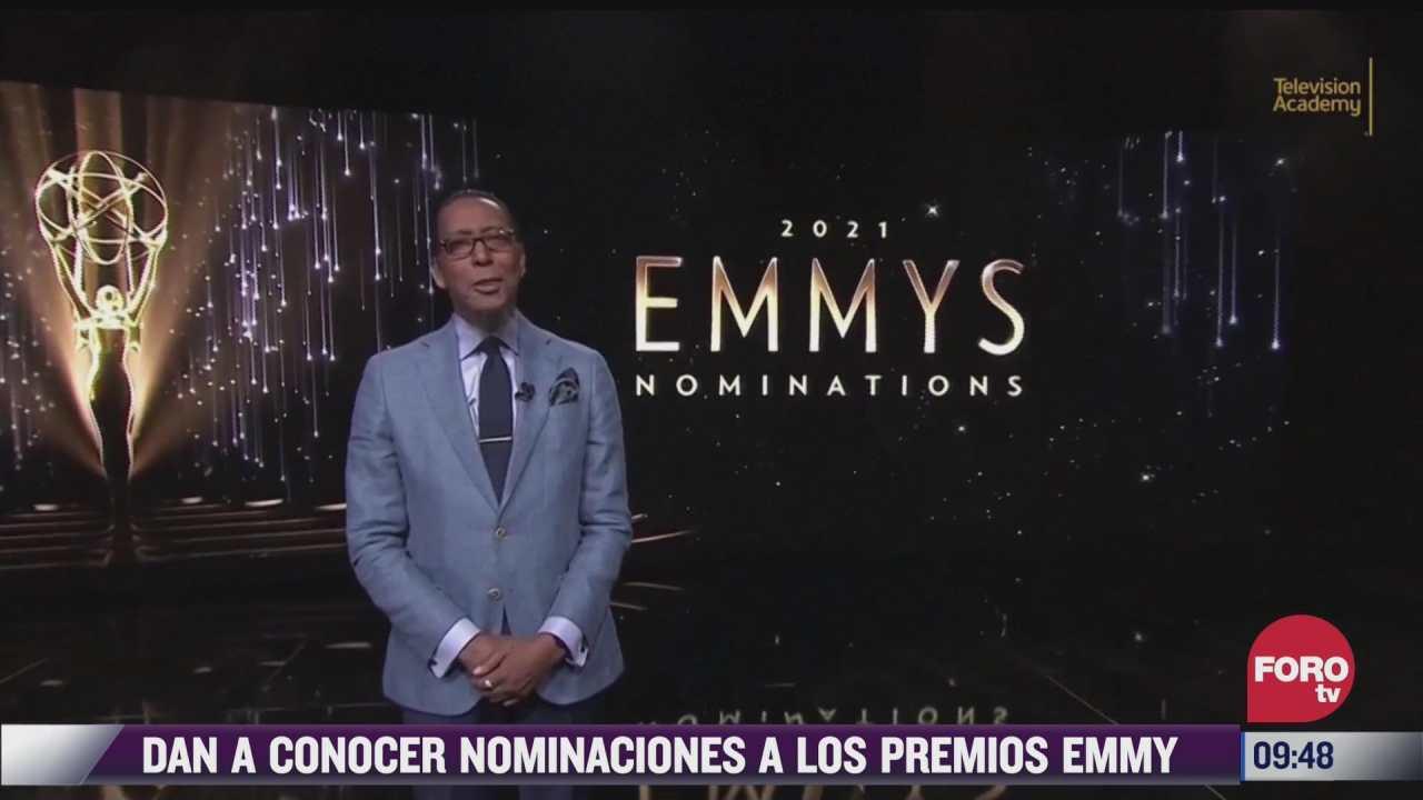 espectaculosenexpreso dan a conocer nominaciones a los premios emmy