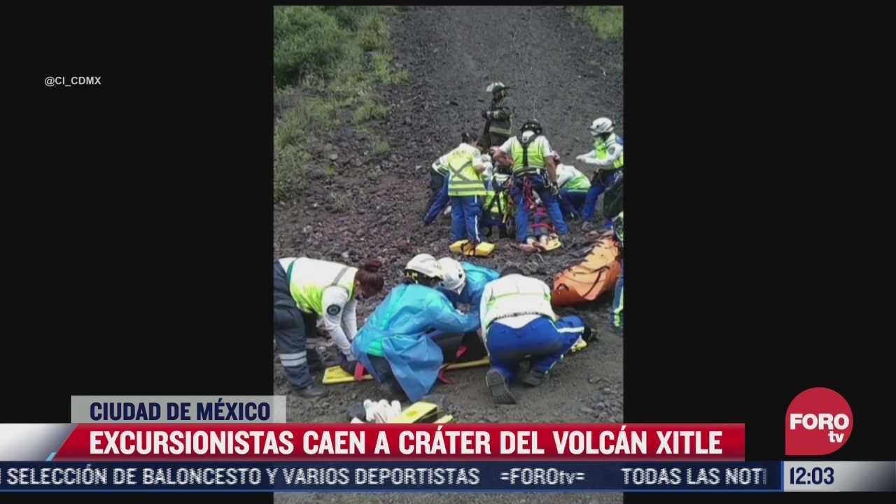 esto es lo que se sabe sobre la muerte de una mujer traes caer al crater del xitle
