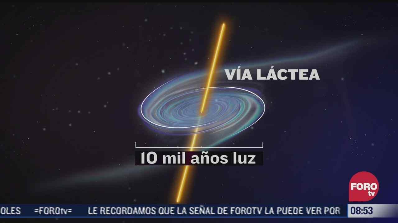 expertos descubre que via lactea ha comenzado a girar a una velocidad menor