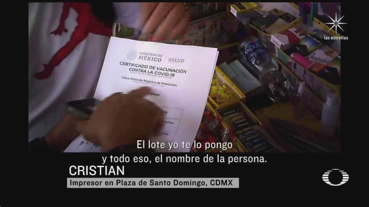 falsos certificados de vacunacion covid 19 en auge en mexico