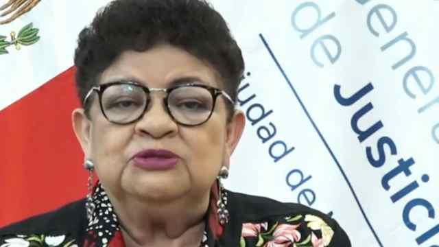 La fiscal genera de justicia de la CDMX, Ernestina Godoy, emite un mensaje el viernes 30 de julio de 2021 (FOROtv)