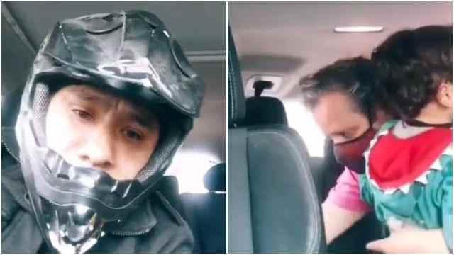 Hombre sufre asalto junto a su hijo en la CDMX mientras hace video en TikTok