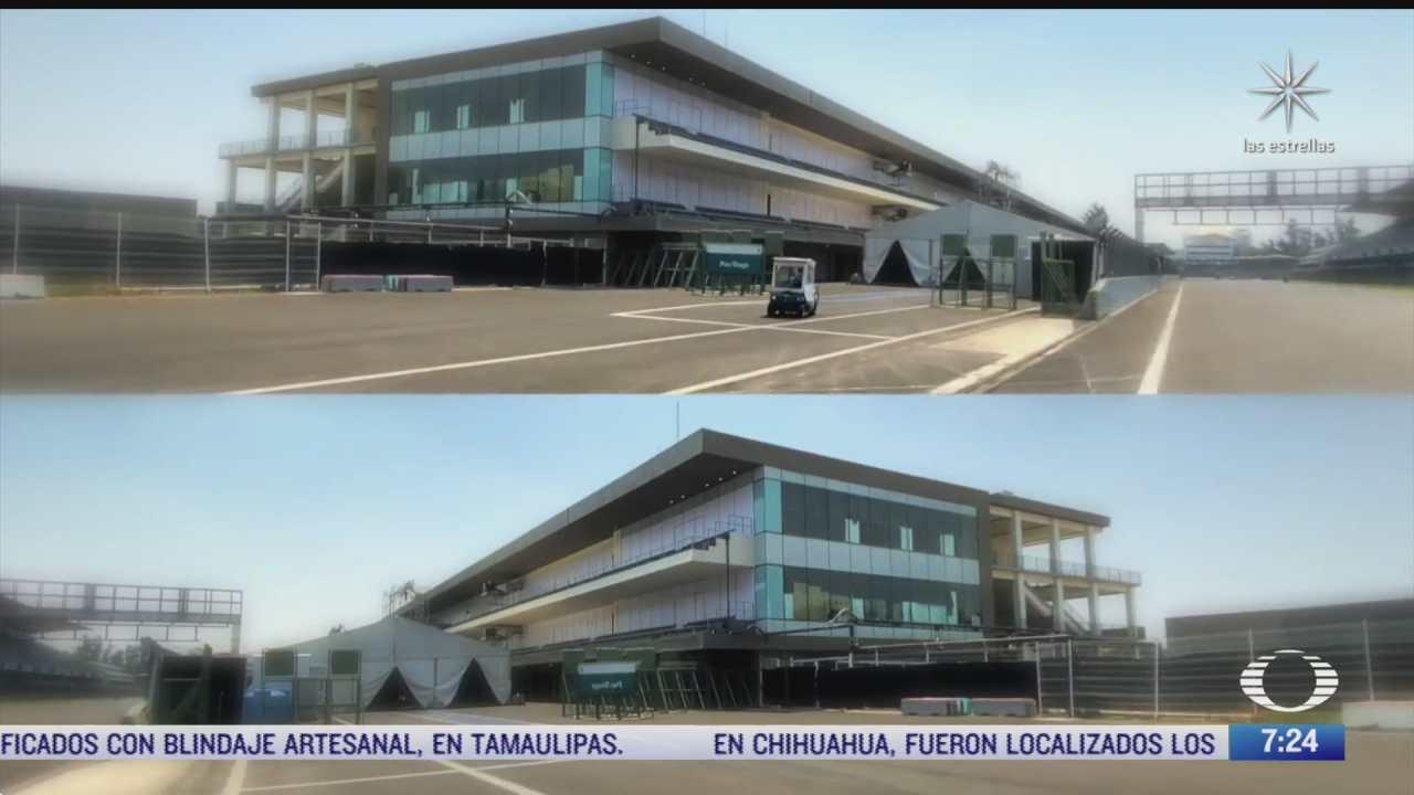 hospital en el autodromo hermanos rodriguez sigue operando ante aumento de covid