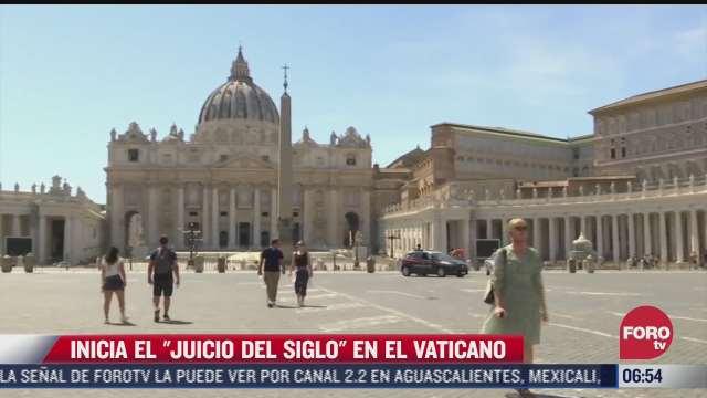 inicia el juicio del siglo en el vaticano