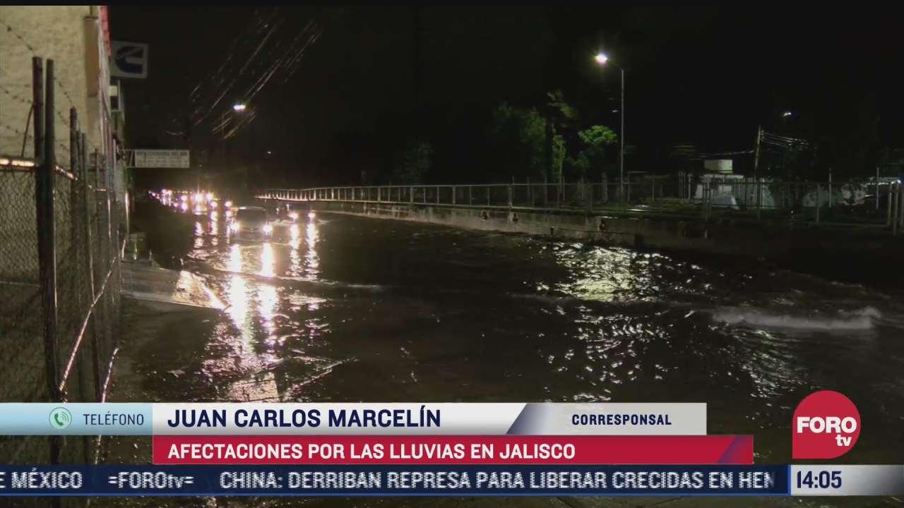 jalisco presenta severas afectaciones por lluvias