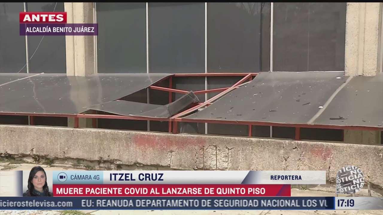 joven infectado de covid 19 muere al lanzarse de quinto piso