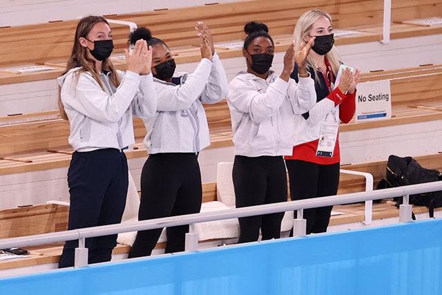 Simone Biles actuación medalla oro gimnasia Tokyo 2020