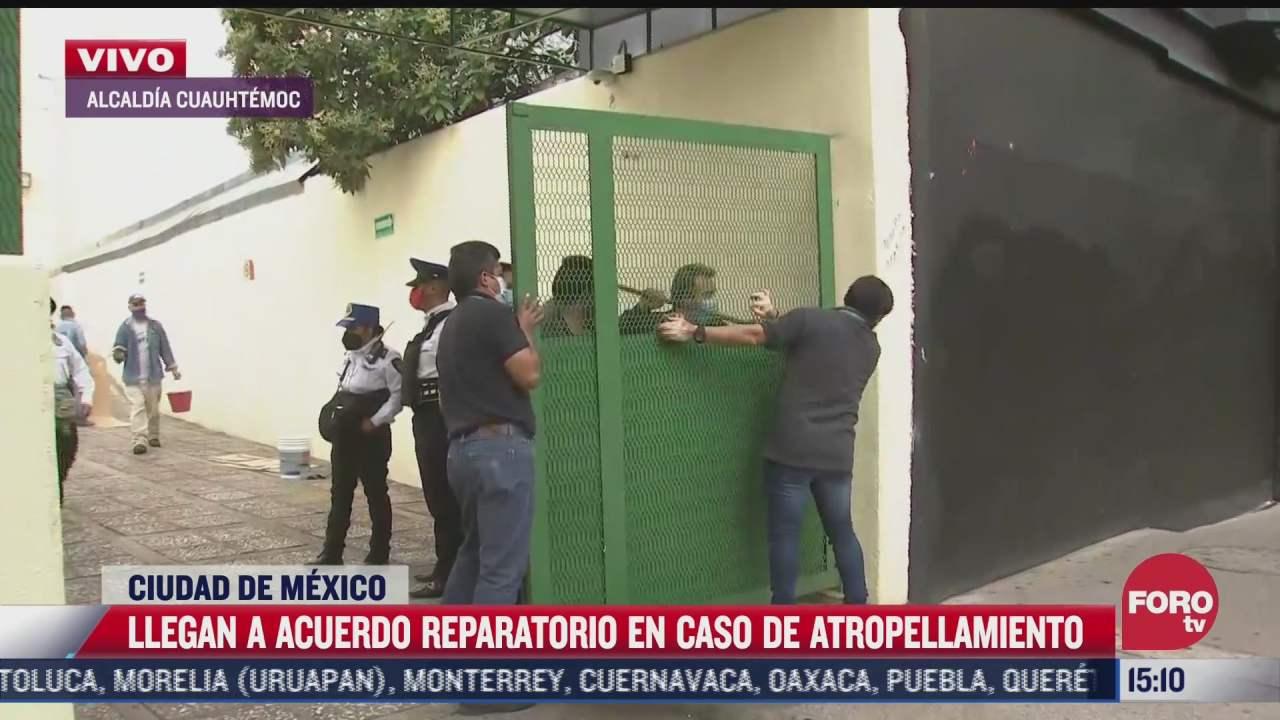 llegan a acuerdo reparatorio por atropellamiento de nina en iztapalapa