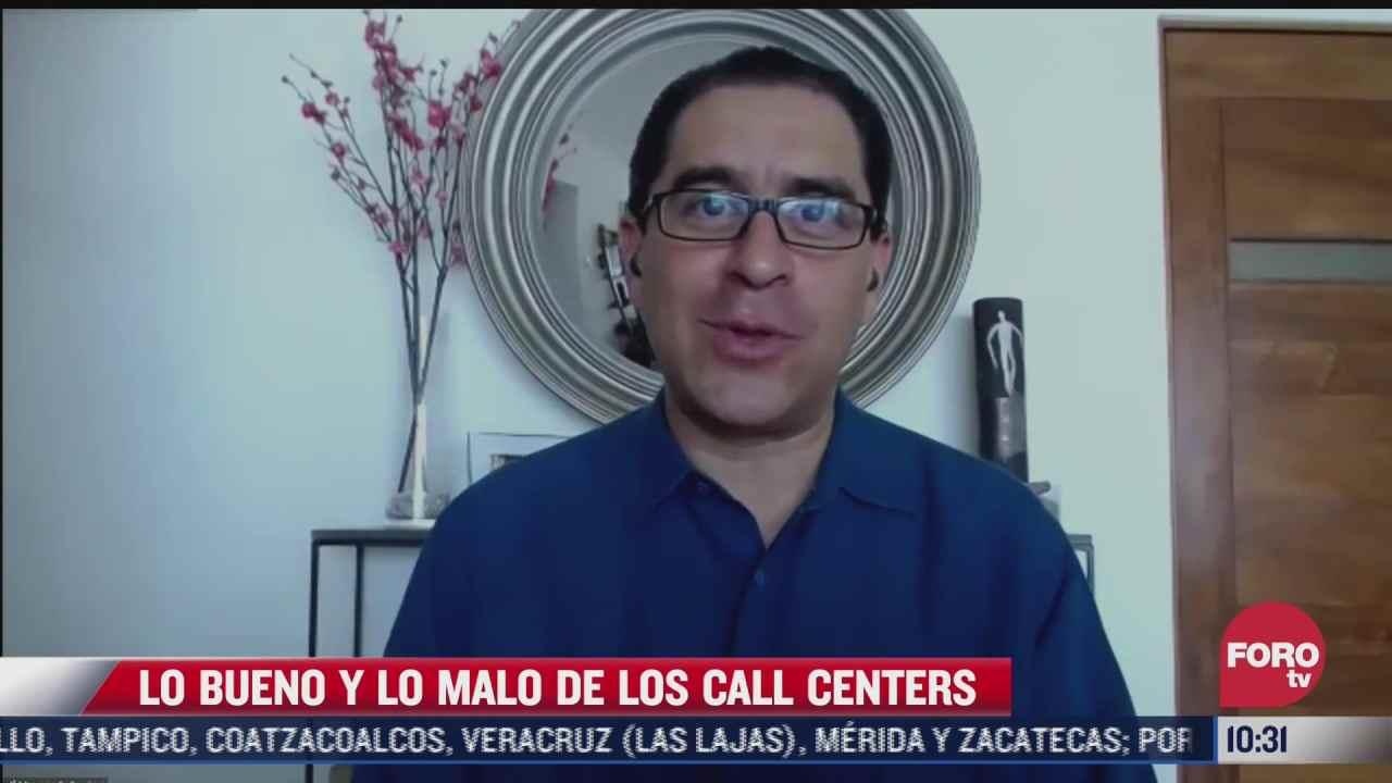 lo bueno y lo malo de los call centers