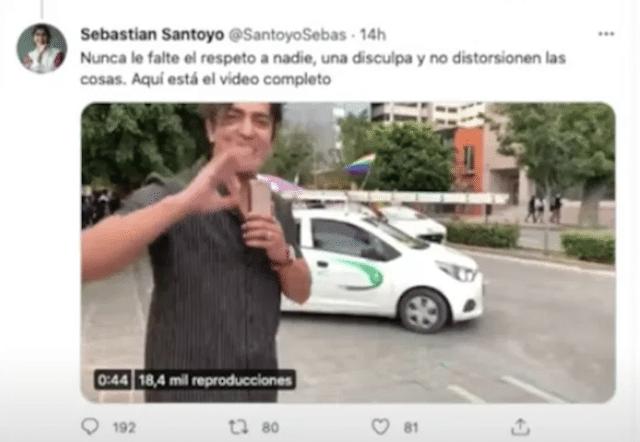Tuit Santoyo Sebas Twitter ADN