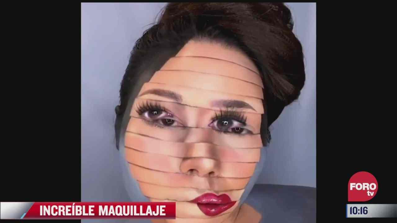 maquillajes que desafian a la vista