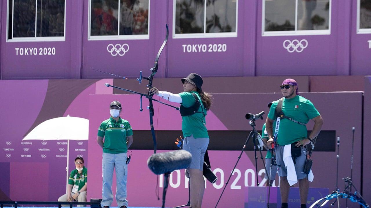México gana la medalla de bronce en Tiro con Arco Mixto