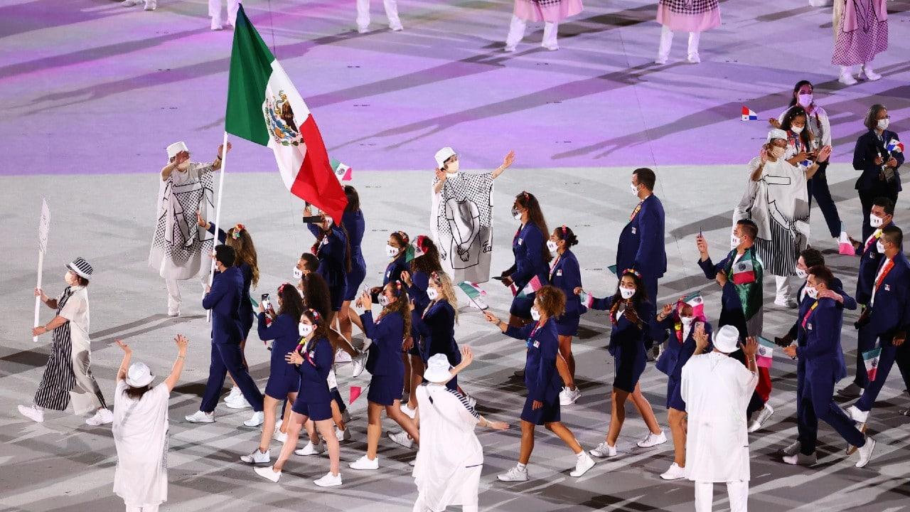 mexico inauguracion juegos olimpicos tokio 2020