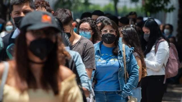 México registra 18 mil 809 nuevos contagios de COVID-19 y 447 muertes