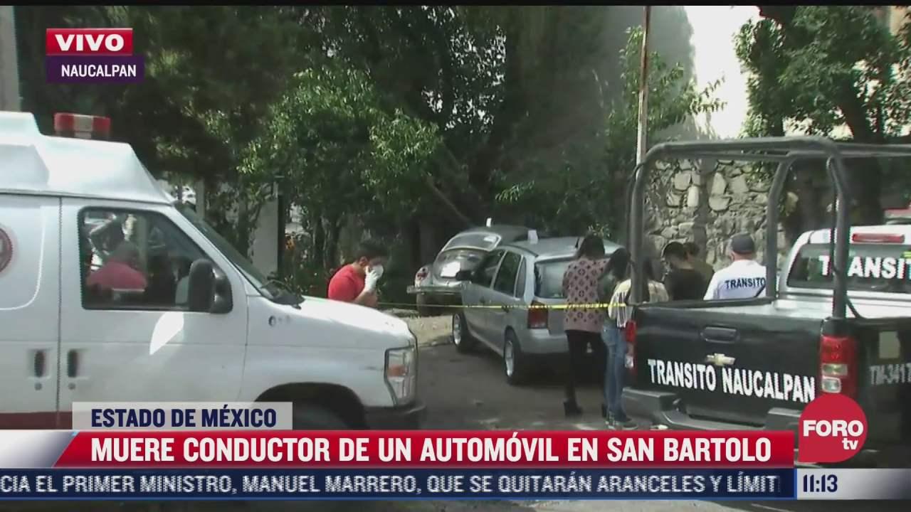 muere conductor de automovil en naucalpan edomex