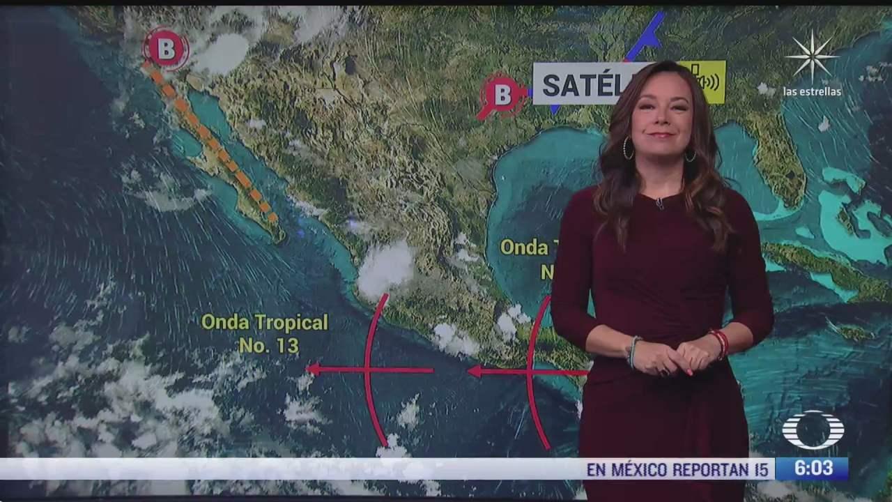 onda tropical 13 provocara lluvias fuertes en jalisco y nayarit