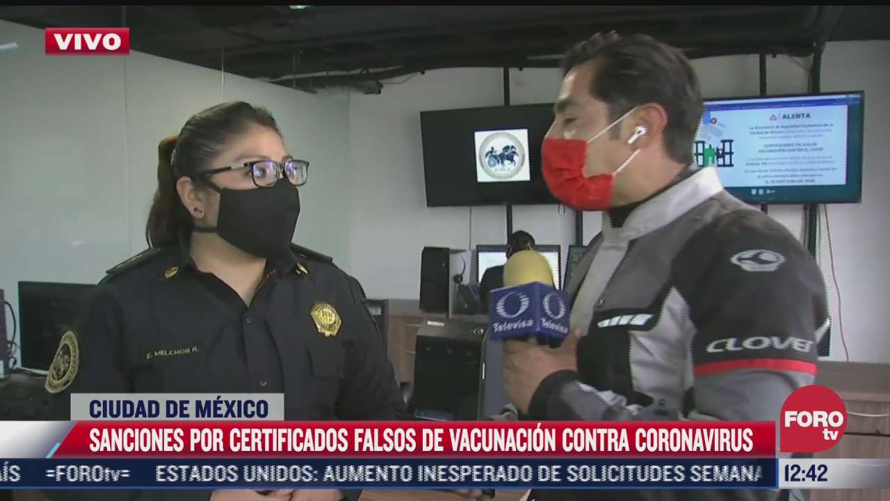 policia cibernetica alerta sobre robo de identidad a traves de certificado falso de vacunacion
