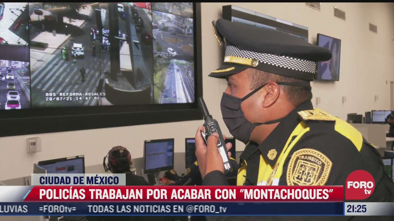 policias trabajan para acabar con montachoques en cdmx