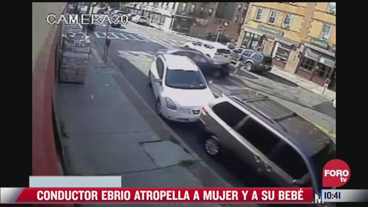 rescatan a bebe atrapada debajo de un carro tras ser atropellada por un borracho