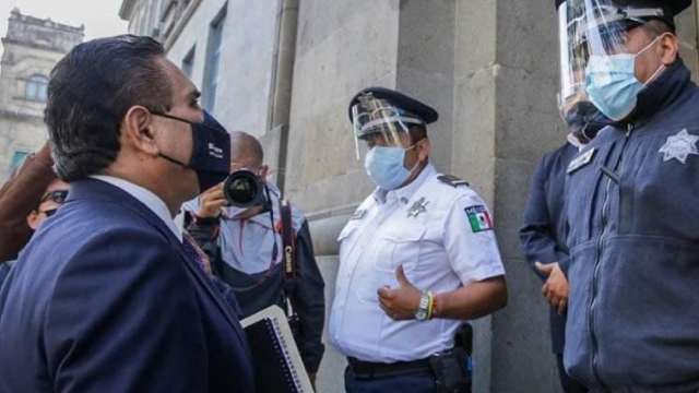 Silvano Aureoles, gobernador de Michoacán, va a la SCJN