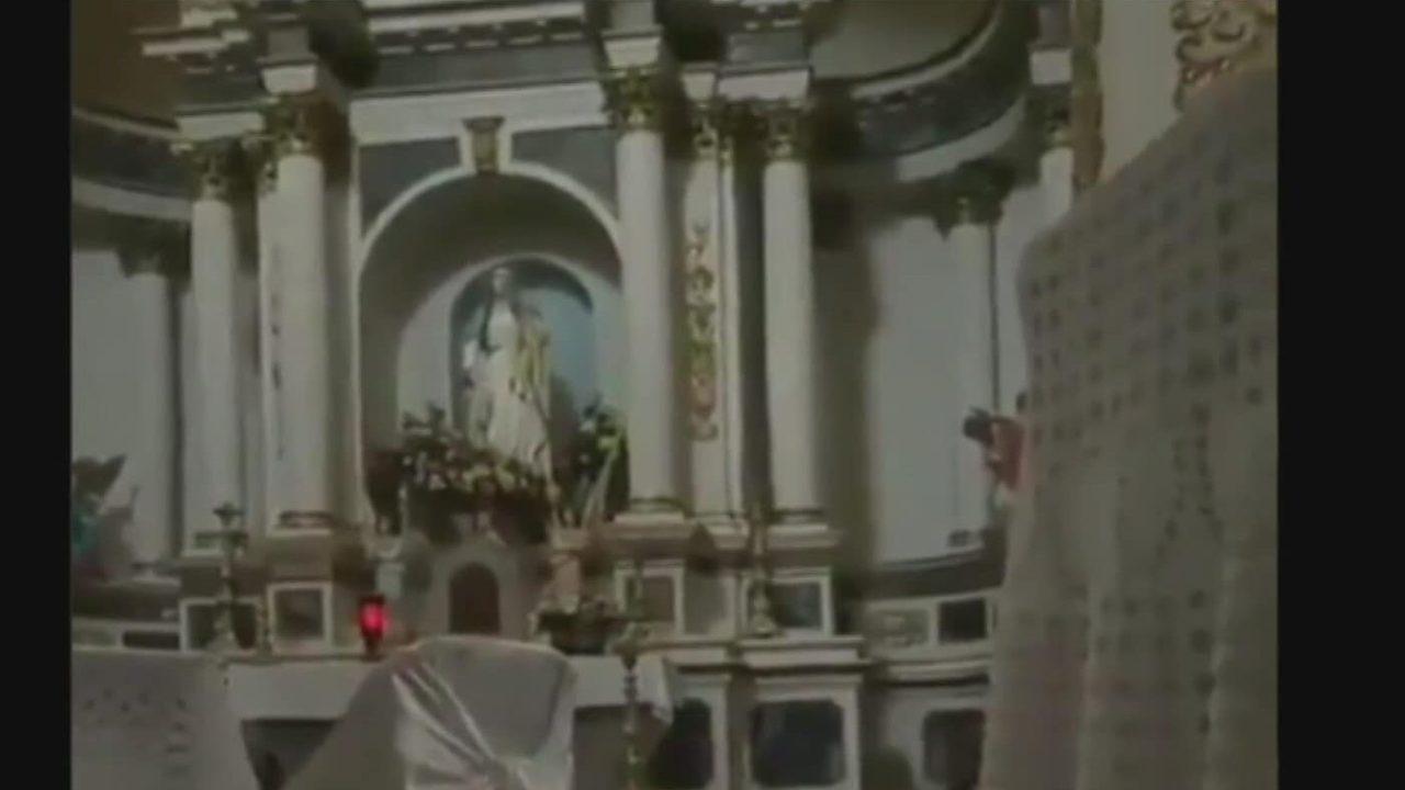 terror en iglesia por balacera en magdalena de kino sonora