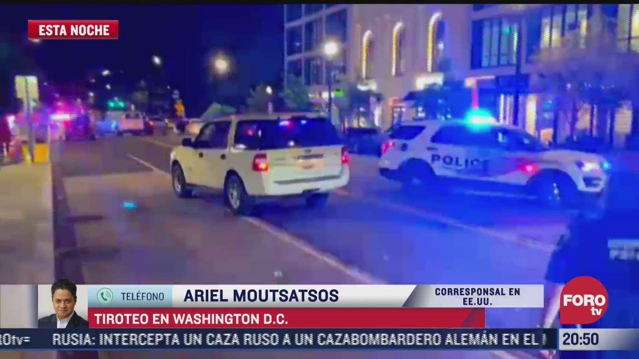 tiroteo en washington d c se produjo afuera de restaurante mexicano