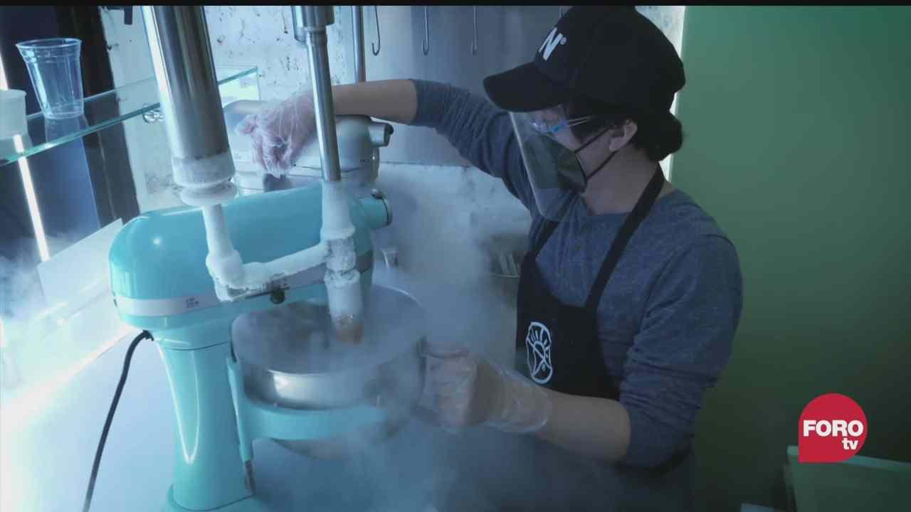 tras la chuleta el trabajo de un heladero