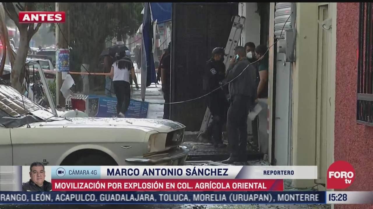 video fuerte explosion por acumulacion de gas deja 12 heridos en colonia agricola oriental