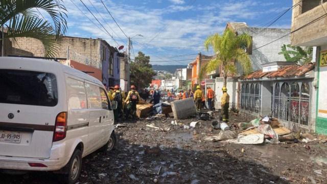 Inundaciones en Zapopan, Jalisco, no vistas en 10 años