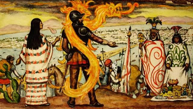 Conquista de Mexico: Malinche, traidora o victima