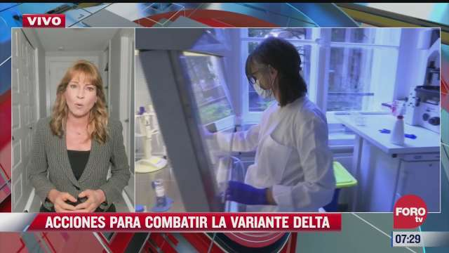 acciones para combatir la variante delta en el mundo