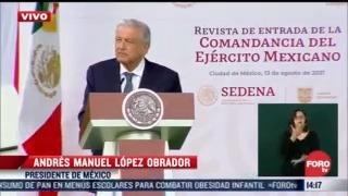 amlo encabeza ceremonia de creacion de la comandancia del ejercito mexicano