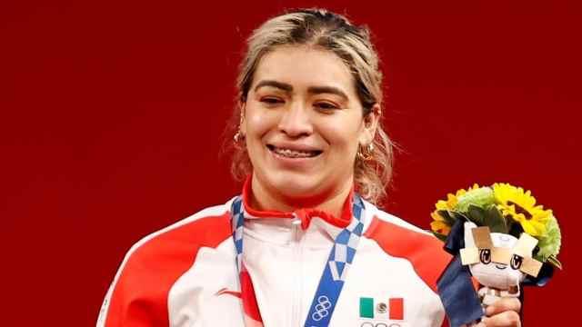 Aremi Fuentes gana medalla de bronce